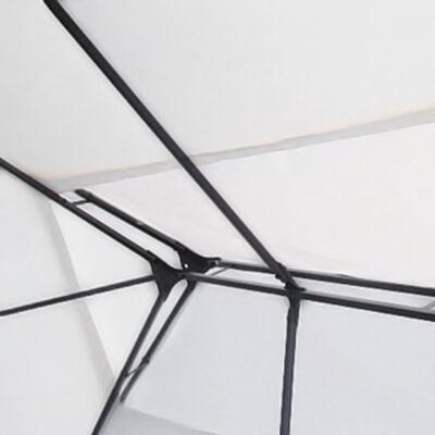 vidaXL Gazebo White 3x4 m