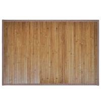 Bamboo Bath Mat 60 x 90 cm Brown