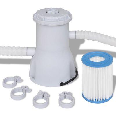vidaXL Swimming Pool Filter Pump 800 gal / h