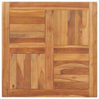 vidaXL Table Top Solid Teak Wood 70x70x2.5 cm