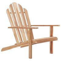 vidaXL Adirondack Chair Teak