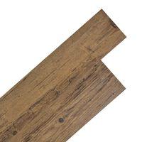 vidaXL Self-adhesive PVC Flooring Planks 5.02 m²  2 mm Walnut Brown