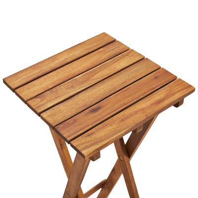 vidaXL Plant Stand 30x30x38 cm Solid Acacia Wood