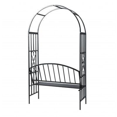 vidaXL Garden Rose Arch with Bench