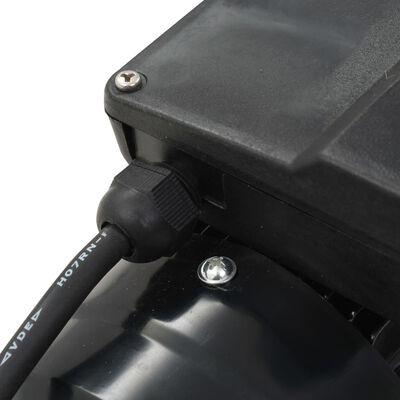 vidaXL Pool Pump Black 0.25 HP 7500 L/h