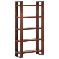 vidaXL Book Cabinet Honey Brown 85x30x166 cm Solid Acacia Wood