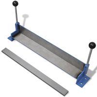vidaXL Manually Operated Steel Plate Folding Machine 450 mm