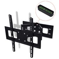 """vidaXL Double-armed Tilt Swivel Wall TV Bracket 3D 400x400mm 32""""-55"""""""