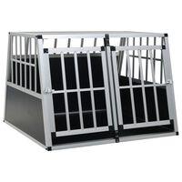 vidaXL Dog Cage with Double Door 94x88x69 cm