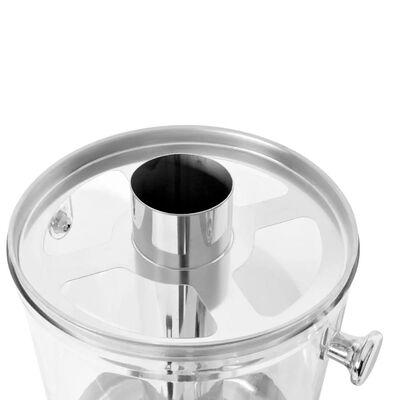 vidaXL Juice Dispenser Stainless Steel 8 L