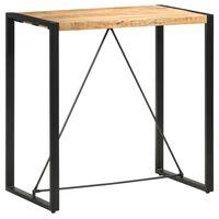 vidaXL Bar Table 110x60x110 cm Solid Mango Wood