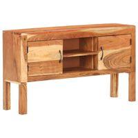 vidaXL Sideboard 116x30x66 cm Solid Acacia Wood