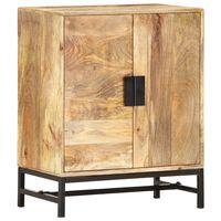 vidaXL Sideboard 60x35x75 cm Solid Mango Wood