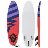 vidaXL Surfboard 170 cm Stripe