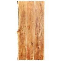 vidaXL Bathroom Vanity Top Solid Acacia Wood 120x55x3.8 cm