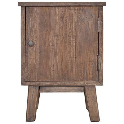 vidaXL Bedside Cabinet 40x30x53 cm Solid Teak Wood