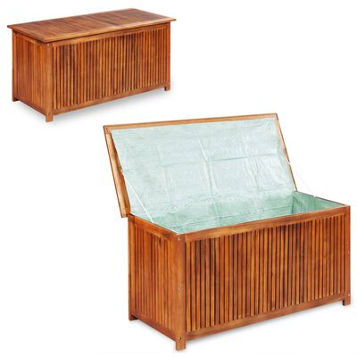vidaXL Garden Storage Box 150x50x58 cm Solid Acacia Wood