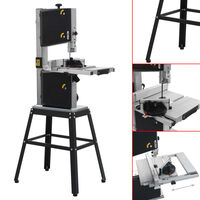 vidaXL Band Saw with Stand Cutting Width 245 mm