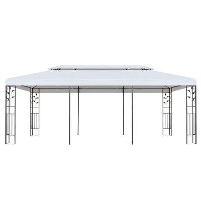 vidaXL Gazebo 3x6 m White