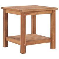 vidaXL Coffee Table 45x45x45 cm Solid Teak Wood