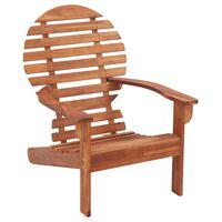 vidaXL Adirondack Chair Solid Acacia Wood