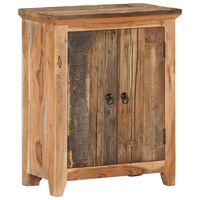 vidaXL Sideboard 60x33x75 cm Solid Acacia Wood and Reclaimed Wood