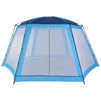vidaXL Pool Tent Fabric 590x520x250 cm Blue