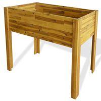 vidaXL Raised Garden Raised Bed Solid Acacia Wood