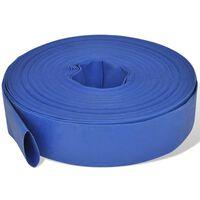 "vidaXL Flat Hose 50 m 2"" PVC Water Delivery"