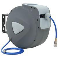 "vidaXL Automatic Air Hose Reel 1/4"" 30 m"