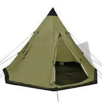 vidaXL 4-person Tent Green
