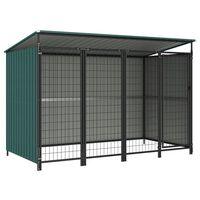 vidaXL Outdoor Dog Kennel 253x133x163 cm