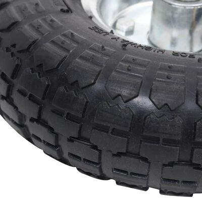 vidaXL Sack Truck Wheels 2 pcs Rubber 4.10/3.50-4,